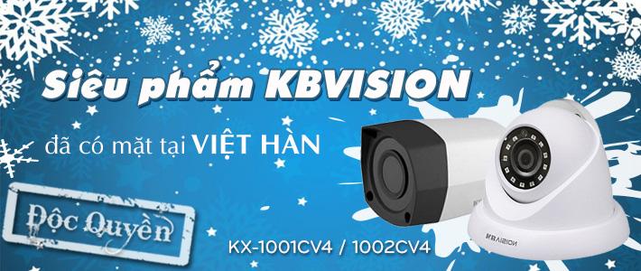 Camera độc quyền KBVISION