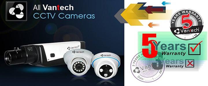 Camera Vantech bao hanh 5 nam