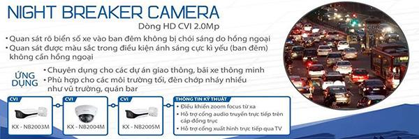 Công nghệ Night Breaker Camera KBVISION