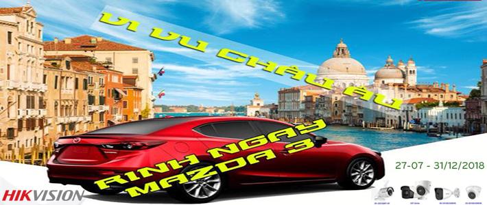 Khuyến mãi Mazda 3 HIKVISION
