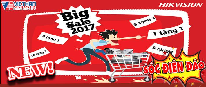 Khuyến mãi Big Sale tháng 10 HIKVISION