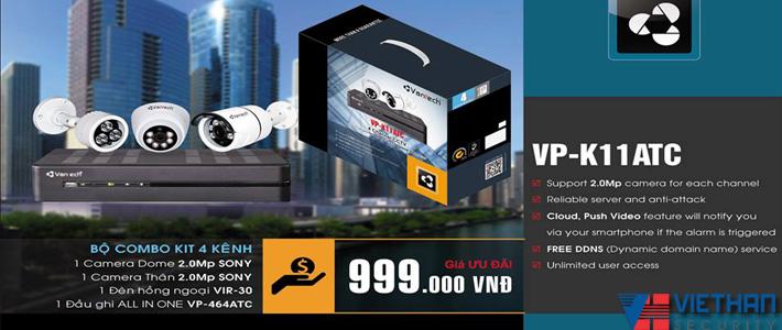 Khuyến mãi Vantech Combo Kit Chip Sony