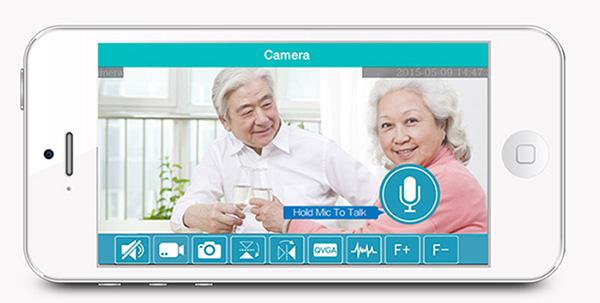 Đàm thoại 2 chiều camera SmartZ SCT1015