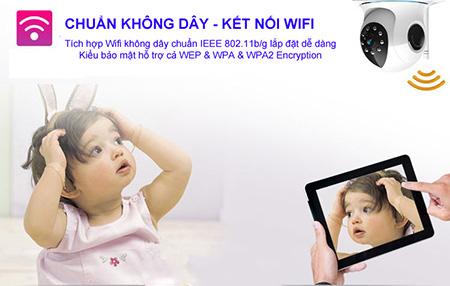 Kết nối Wifi Camera 6300c