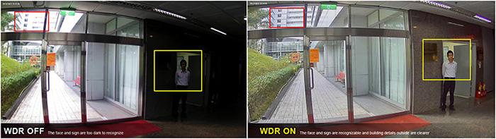 Camera IP Dahua SD59225U-HNI chống ngược sáng thực