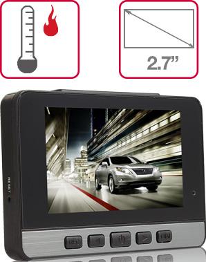 Camera hành trình IR22 màn hình 2.7 Inch
