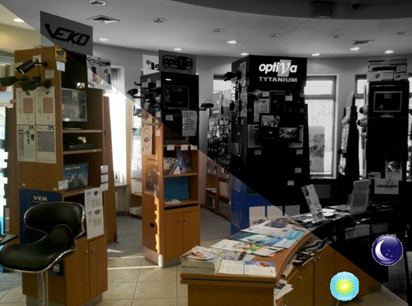 Camera IP Dahua SD29204T-GN quan sát ngày đêm