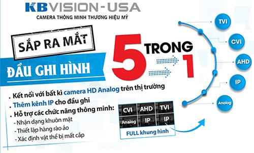 Đầu ghi hình KBVISION KX-7232D5 công nghệ 5 in 1