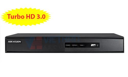 Đầu ghi hình HIKVISION DS-7204HGHI-F1 4 kênh HD 1080P lite, 1 Sata, Audio, add 1 camera IP 1M