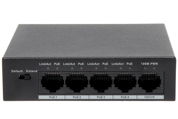 Switch PoE Dahua PFS3005-4P-58