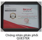 Chứng nhận phân phối Questek
