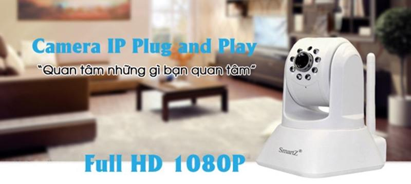 Camera quan sát IP Wifi SmartZ SCX2002 full hd