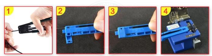 Adaptor kẹp sợi quang - Dùng với dao cắt sợi quang   Xem thêm sản phẩm:Bộ dụng cụ đồ nghề thi công cáp quang 6 món chuyên nghiệp