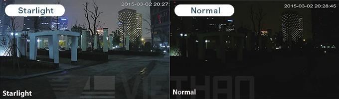 Camera HDPARAGON HDS-5887STVI-IR3 công nghệ starlight