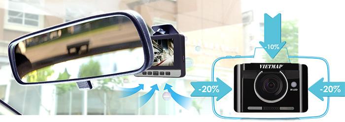 camera Vietmap IR22 thiết kế nhỏ gọn