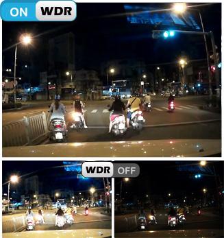 Camera hành trình Vietmap IR22 chống ngược sáng