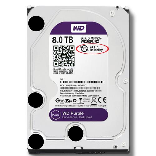 Western Purple HDD 8TB