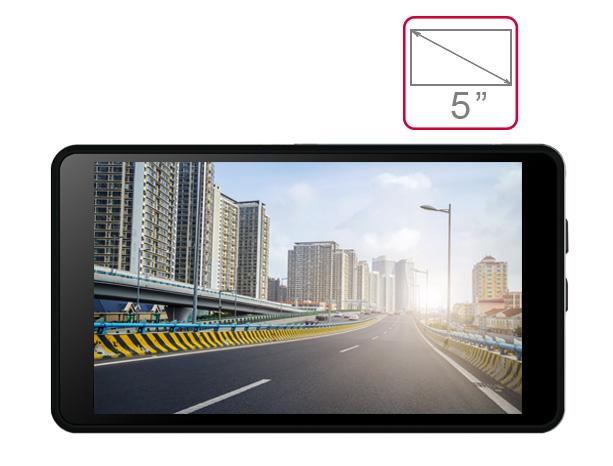 màn hình 5 Inch camera hành trình A50