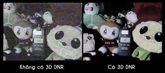 Camera IP HDPARAGON HDS-2543IRP giảm nhiễu 3D