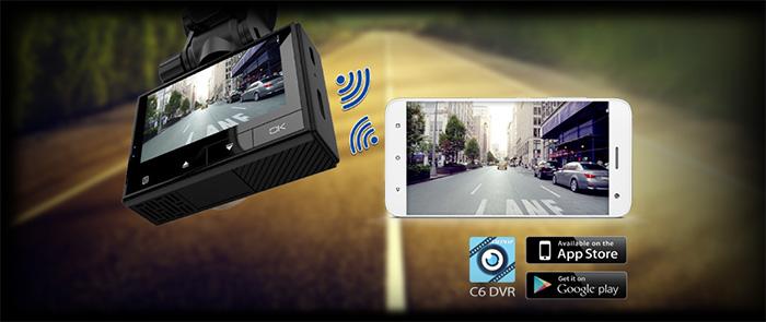 Camera hành trình Vietmap C6 kết nối Wifi không dây