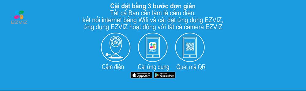 Camera IP Wifi EZVIZ CS-CV206 (C2C 720P) chất lượng tốt