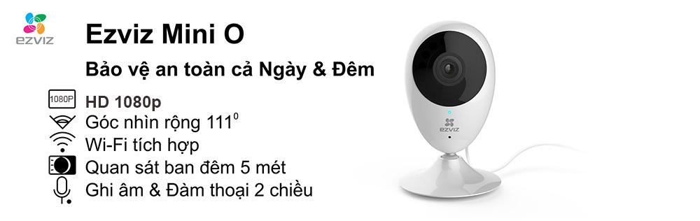 Camera IP Wifi EZVIZ CS-CV206 bảo vệ ngày đêm