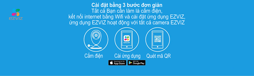 Camera IP Wifi EZVIZ CS-CV206