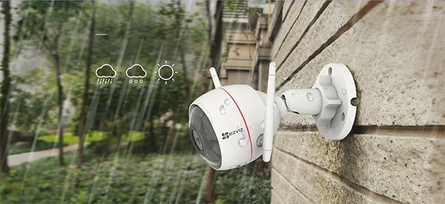 camera ezviz chống mưa nắng rất tốt
