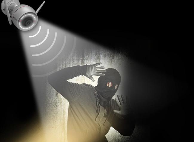 camera ezviz báo trộm hiệu quả