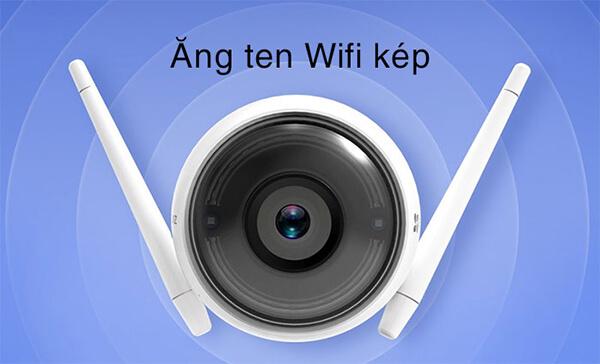 Camera IP Wifi EZVIZ CS-CV310 ăng ten
