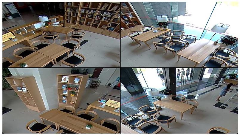 Camera EZVIZ CS-CV346-A0-7A3WFR Mini Pano có chế độ xem linh hoạt