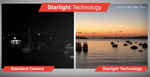 Camera Dahua IPC-HFW2231TP-ZS-IRE6 công nghệ starlight