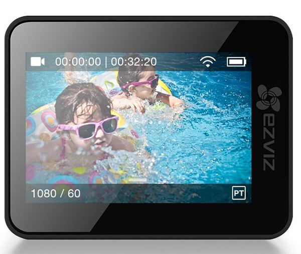 màn hình cảm ứng camera hành trình ezviz