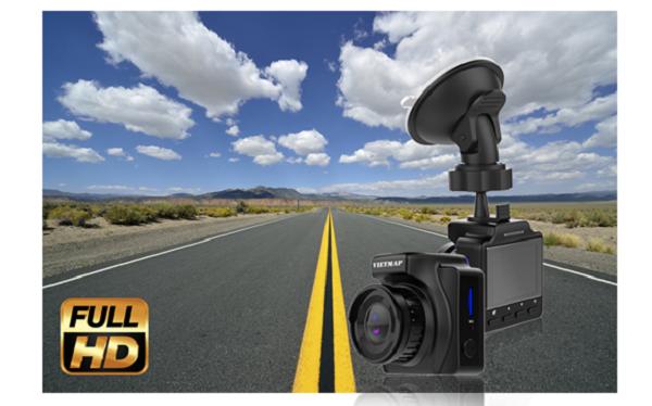Camera hành trình hồng ngoại VIETMAP IR23 ghi hình rõ net