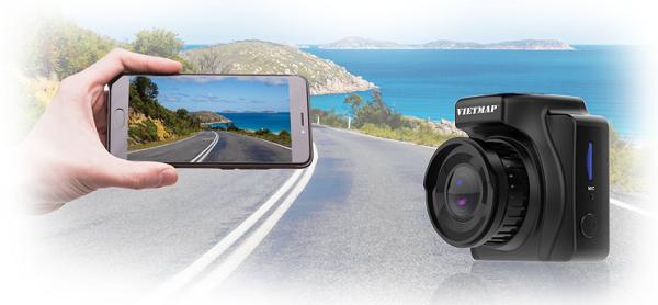 Camera hành trình hồng ngoại VIETMAP IR23 kết nối wifi