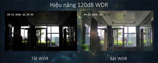 Camera IP HDPARAGON HDS-2423IRPW chống ngược sáng 120db WDR