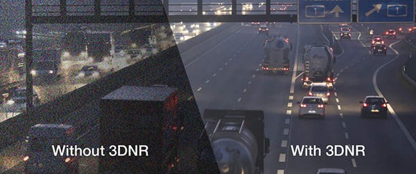 Camera HDPARAGON HDS-1899TVI-IR5F giảm nhiễu 3D