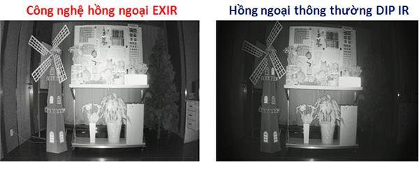 Camera HDPARAGON HDS-1899TVI-IR5F hồng ngoại exir 2.0