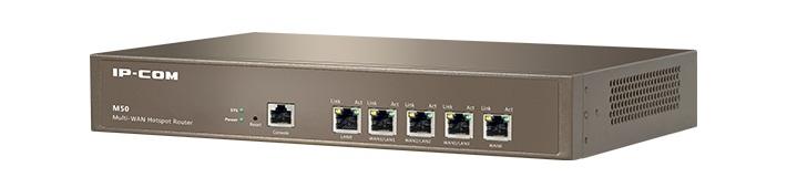 Thiết bị mạng wifi IPCOM MULTI-WAN HOTSPOT ROUTER M50 chính hãng tốt