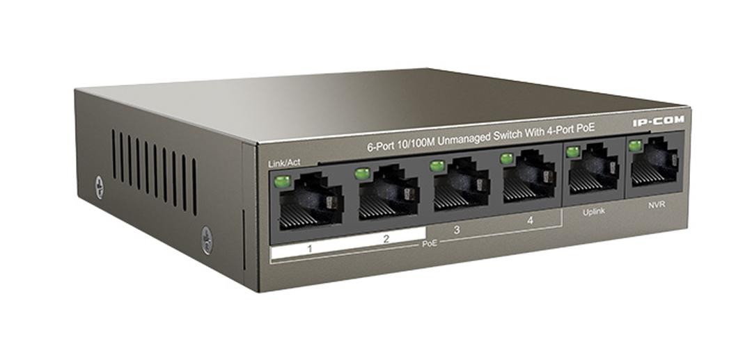 Thiết bị mạng HUB -SWITCH IPCOM SWITCH POE F1106P-4-63W giá tốt
