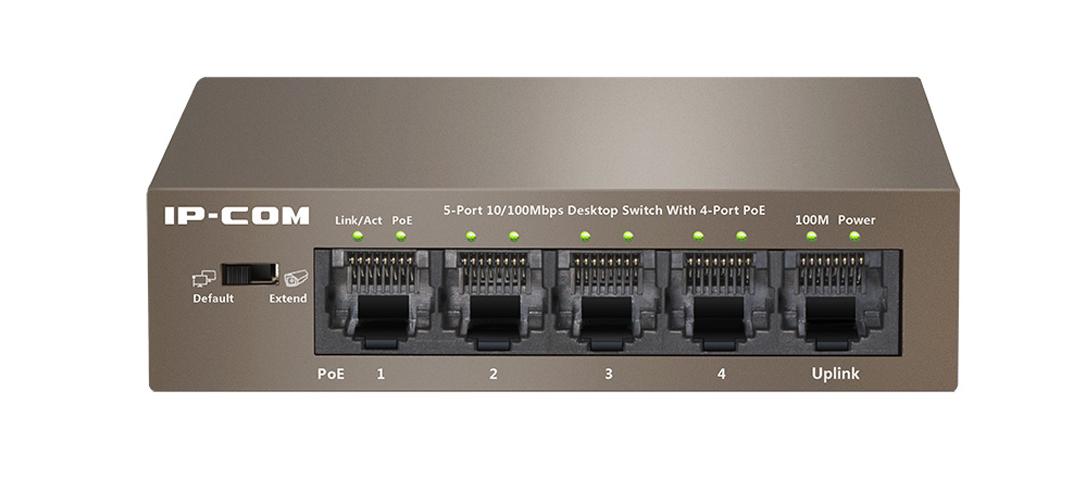 Thiết bị mạng HUB -SWITCH IPCOM POE S1105-4-PWR-H