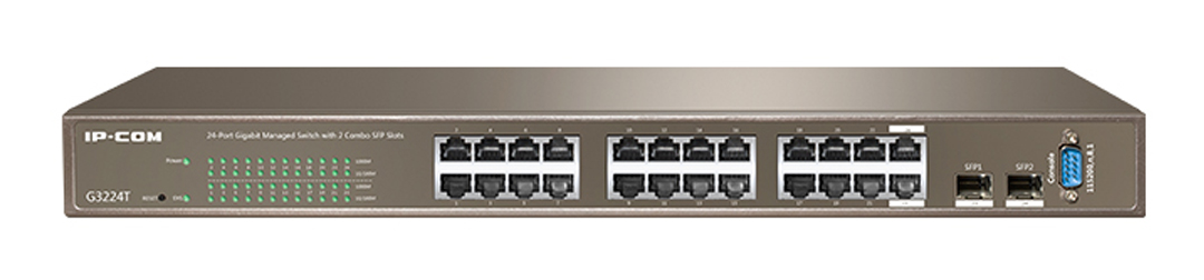 Thiết bị mạng HUB -SWITCH IPCOM UNMANAGED G3224T