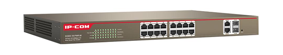 Thiết bị mạng HUB -SWITCH IPCOM POE S3300-18-PWR-M chính hãng