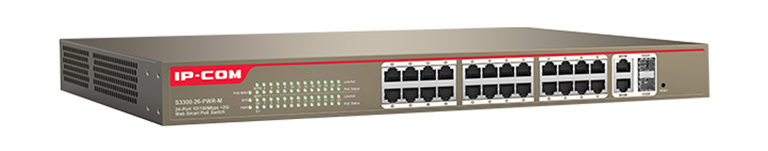 Thiết bị mạng HUB -SWITCH IPCOM POE S3300-26-PWR-M chính hãng