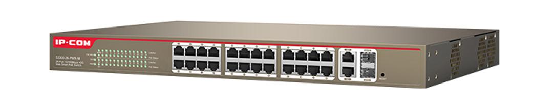 Thiết bị mạng HUB -SWITCH IPCOM POE S3300-26-PWR-M giá rẻ