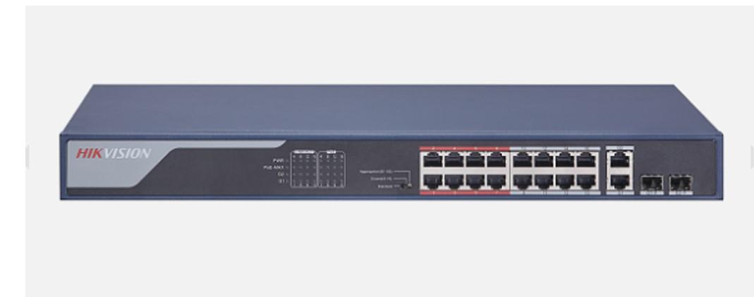 Thiết bị mạng HUB -SWITCH PoE HIKVISION DS-3E0318P-E(B) giá tốt