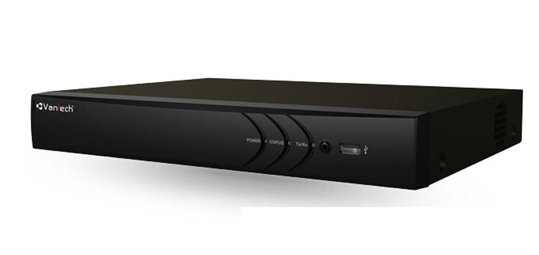 Đầu ghi hình IP VANTECH VP-N8883H1 (8MP, 1 Sata, Audio, HDMI 4K, Hik-connect) chính hãng