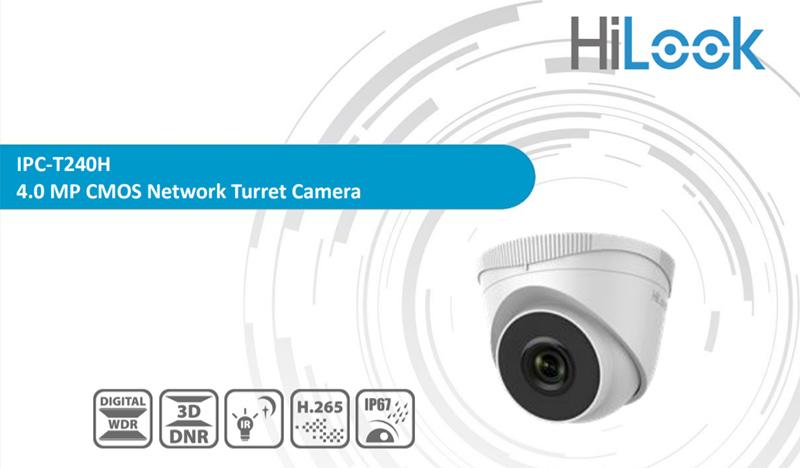 Camera quan sát IP HILOOK IPC-T240H (hồng ngoại 4MP)