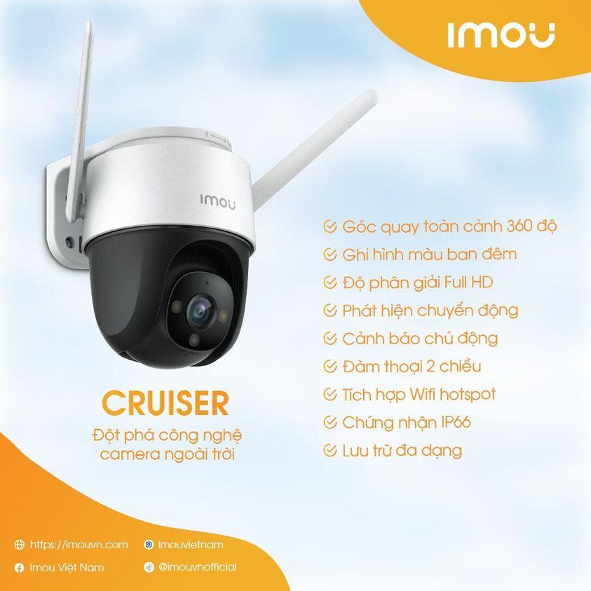 Camera quan sát Wifi IMOU IPC-S22FP chính hãng