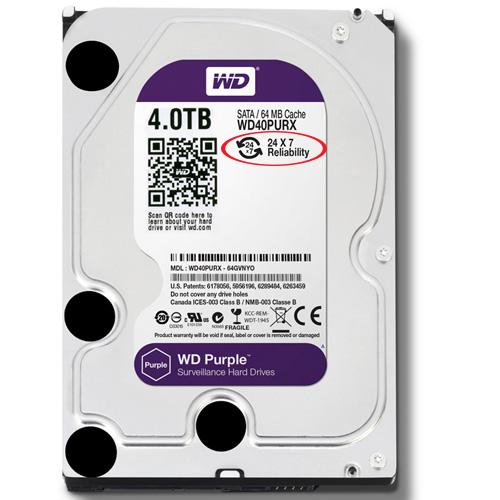 Western Purple HDD 4TB